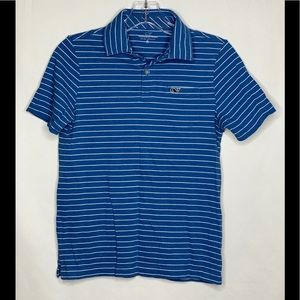Vineyard Vines Blue Short Sleeve Polo